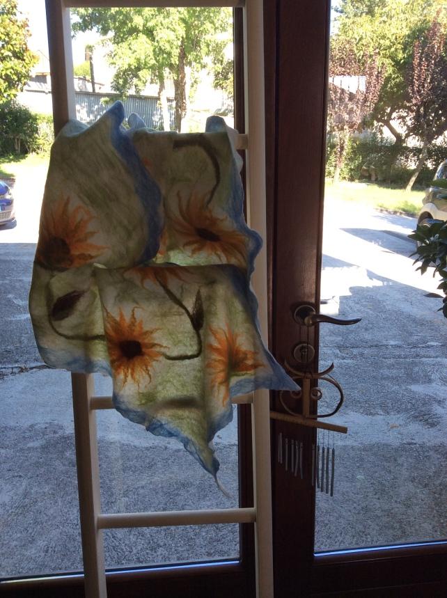 sciarpa in feltro