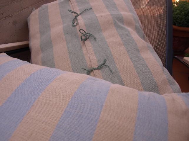 cuscini a telaio